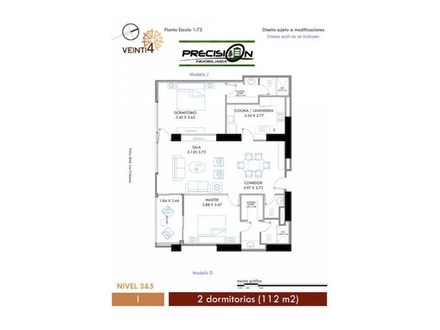 apartamento en venta zona 10 edificio veinti4