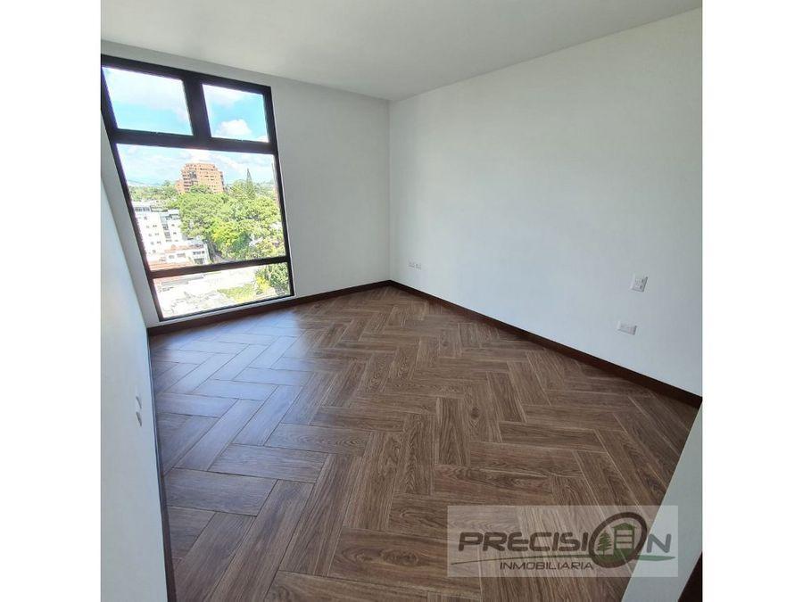 apartamento en alquiler zona 15 edificio ikaria