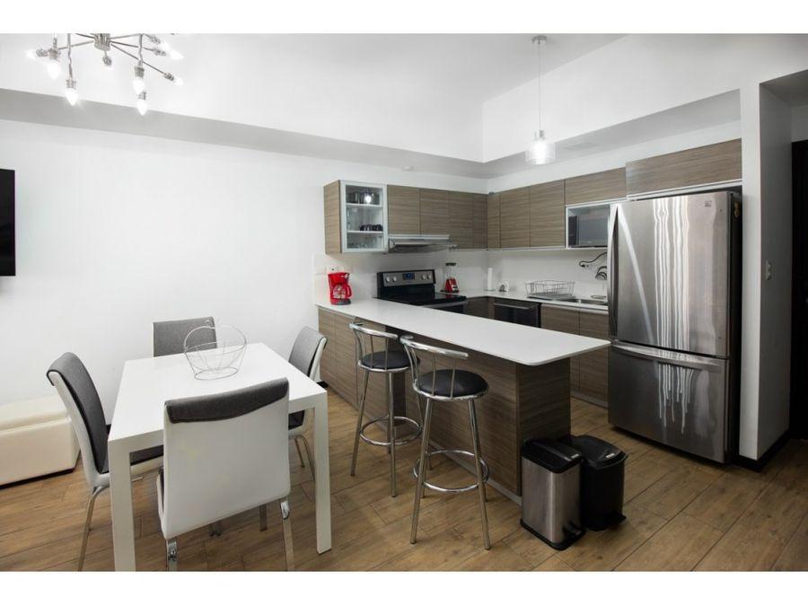 apartamento amueblado en zona 10 casalini