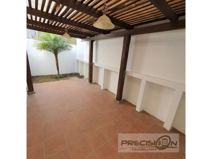 casa en alquiler km175 condominio villas vermont 1