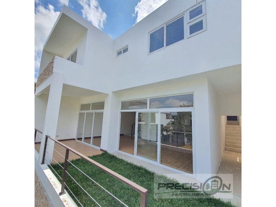 casa en venta zona 16 condominio puerta de hierro