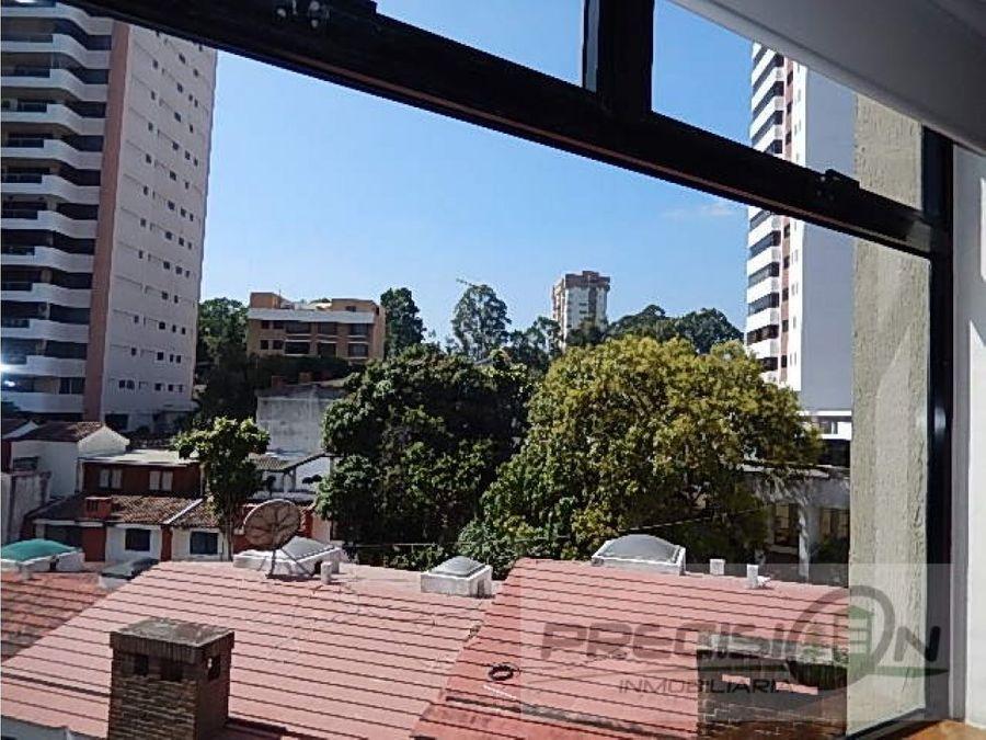 apartamento amueblado en zona 14 torre elgin
