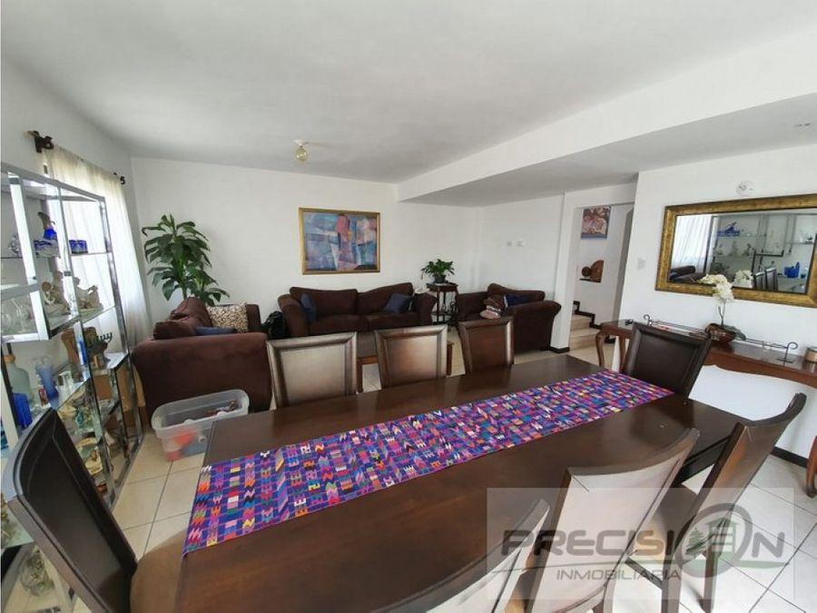 casa en venta zona 16 vistas de san isidro