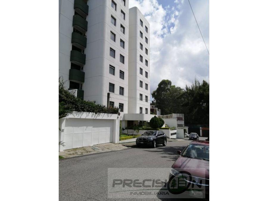 apartamento en alquiler zona 10 edificio vista verde