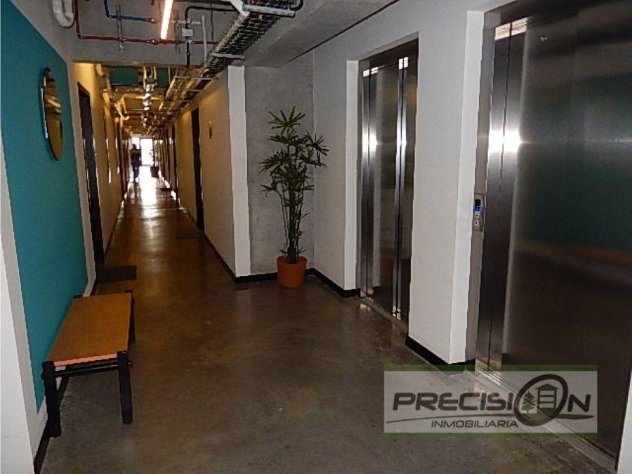 apartamento tipo loft en zona 10 edificio fabra