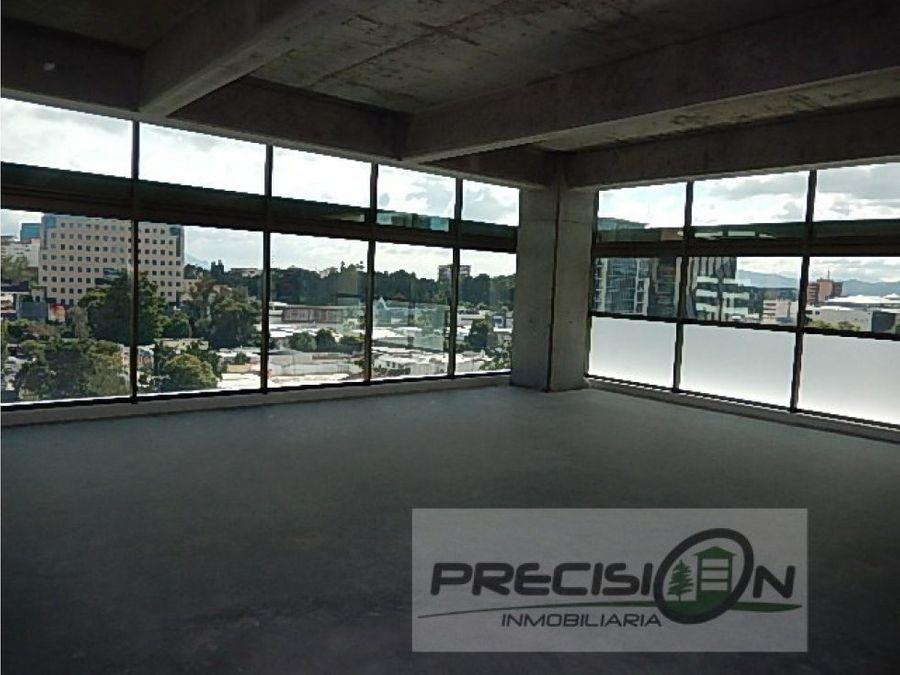 oficina en alquiler en zona 10 edificio piale