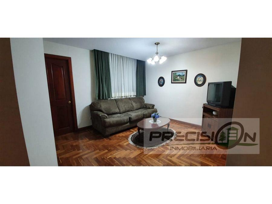 apartamento semiamueblado en alquiler zona 14 edificio villa mayor