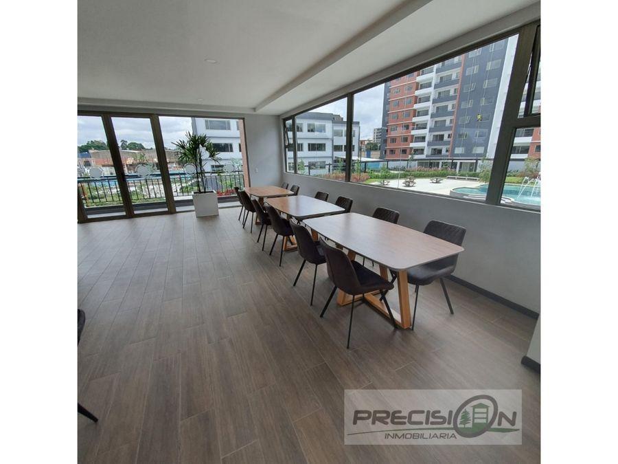 apartamento con jardin en alquiler zona 14 condominio segheria