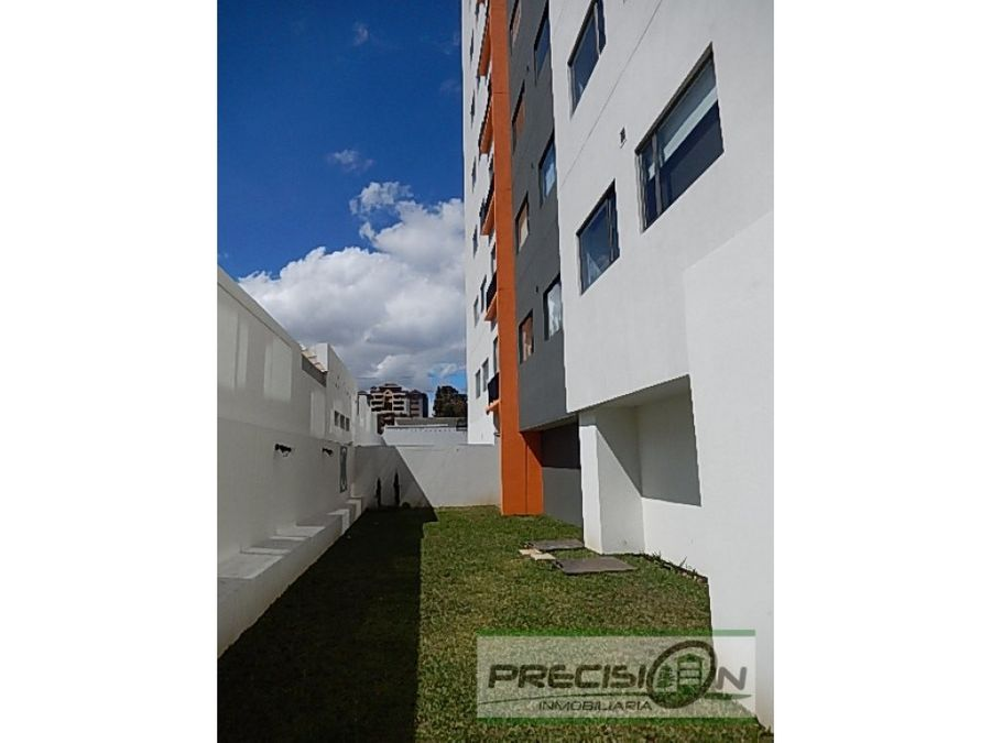 apartamento amueblado en zona 10 edificio verona