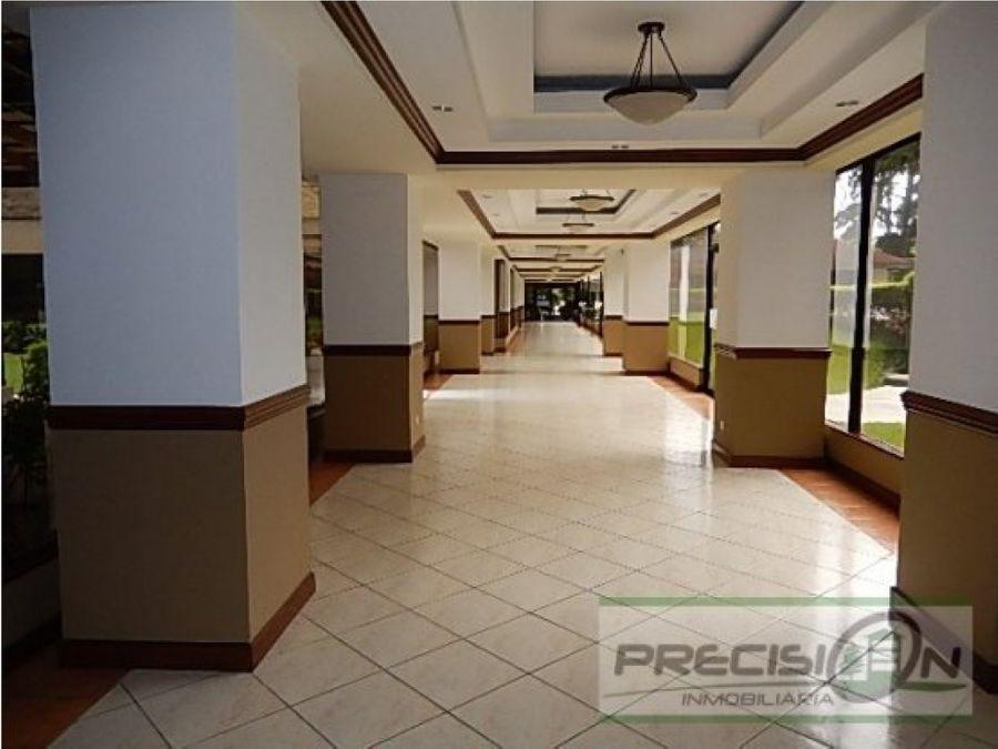apartamento amueblado en alquiler zona 10 edificio milenia