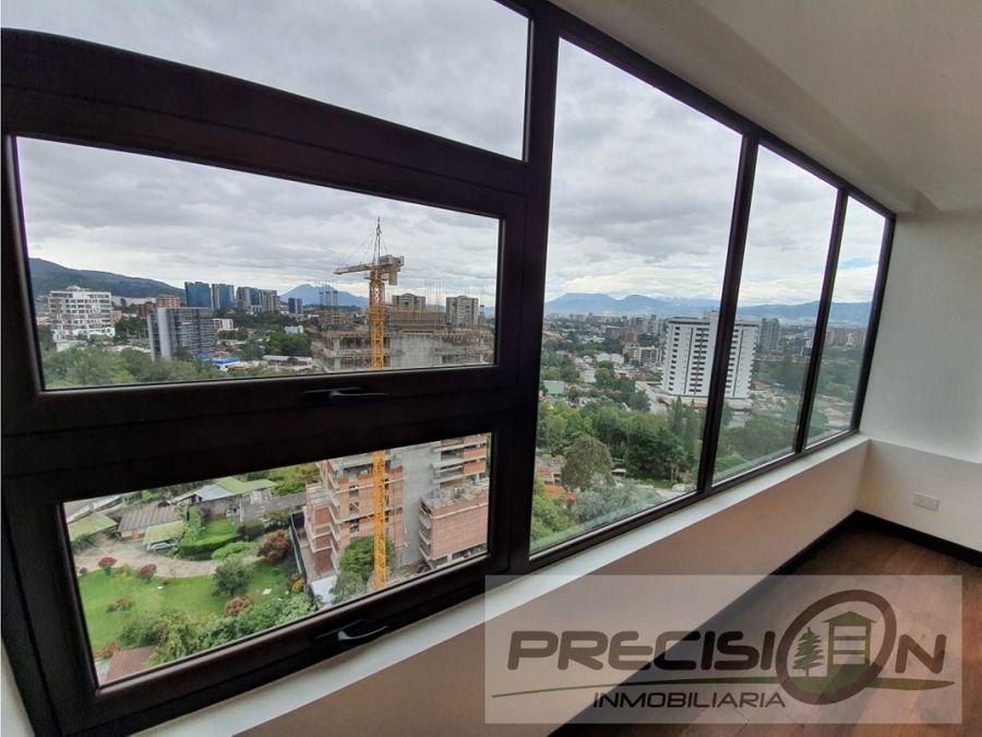 penthouse en venta zona 15 edificio liv
