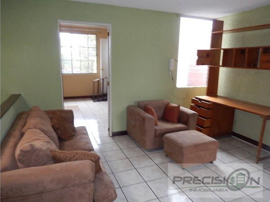 casa amueblada en km18 condominio providencia