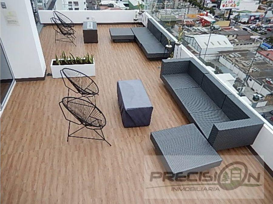 apartamento en alquiler zona 10 edificio city haus