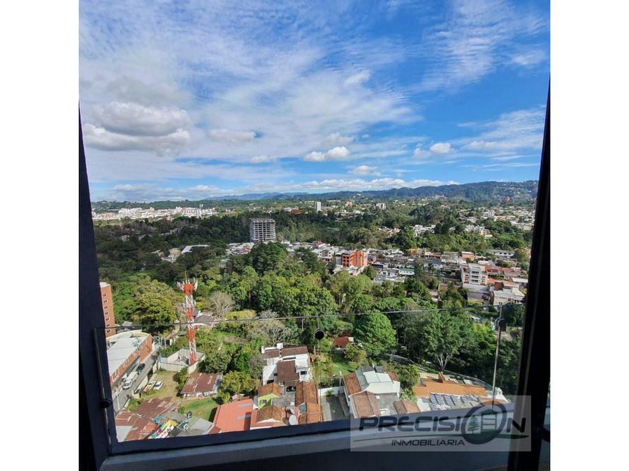 apartamento en alquiler zona 15 parque 15
