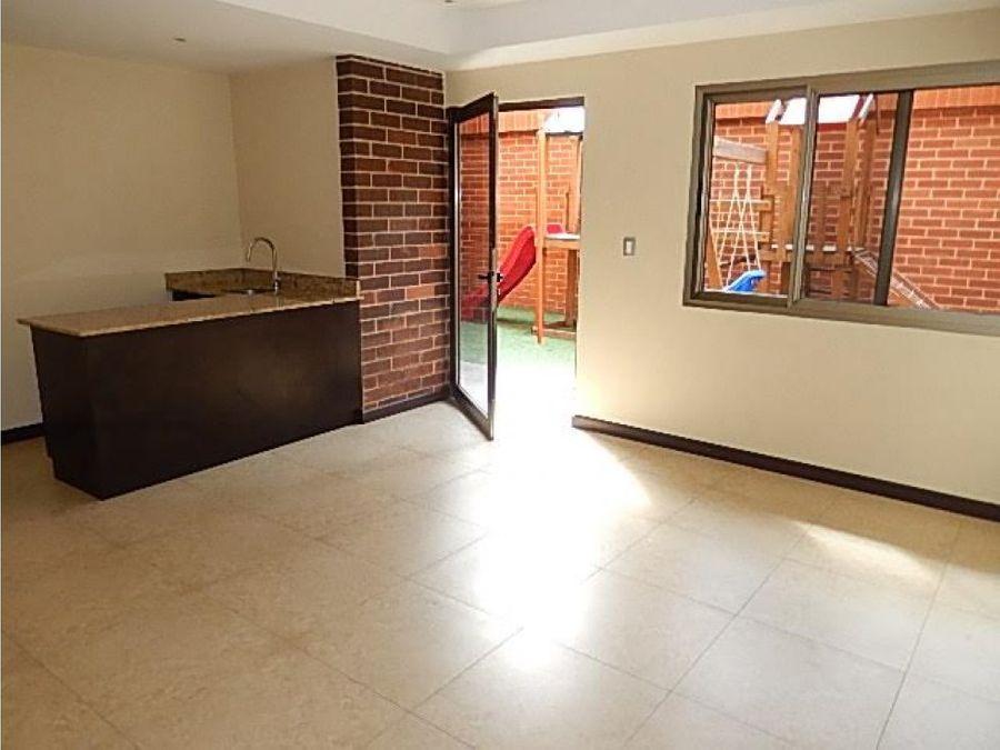 lindo apartamento en zona 15 torre verde