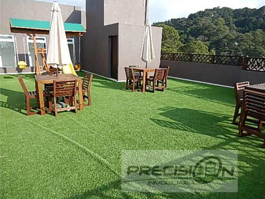 apartamento con jardin zona 16 bosques de euskadi