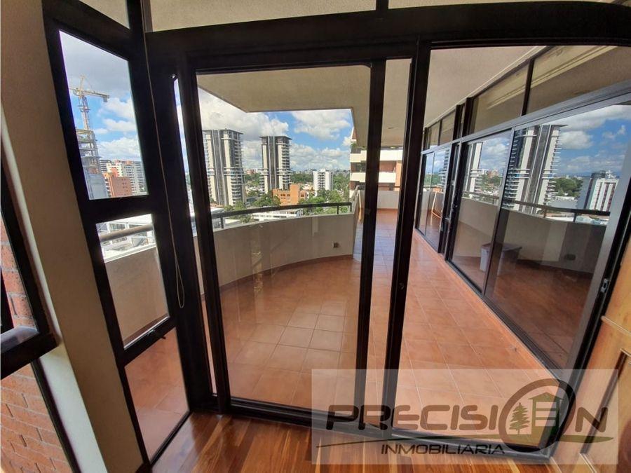 apartamento en venta zona 14 quinta bella sur