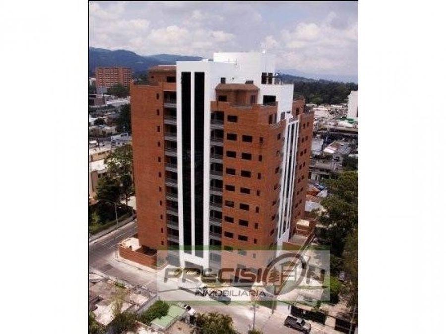 apartamento en alquiler zona 10 torre del valle