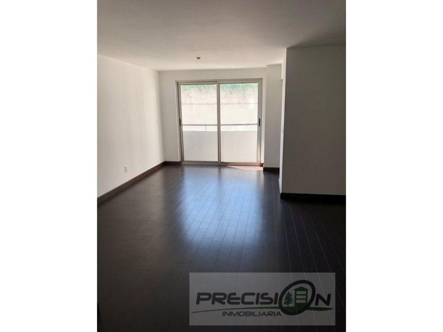 apartamento en alquiler zona 14 edificio attica i