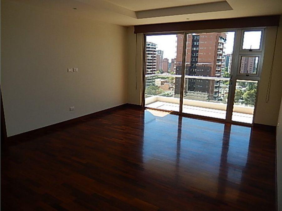 apartamento en alquiler zona 14 akoya