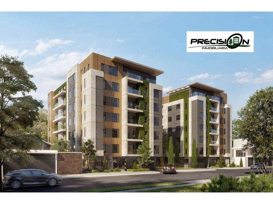 apartamento nuevo en planos zona 15 edificio dual