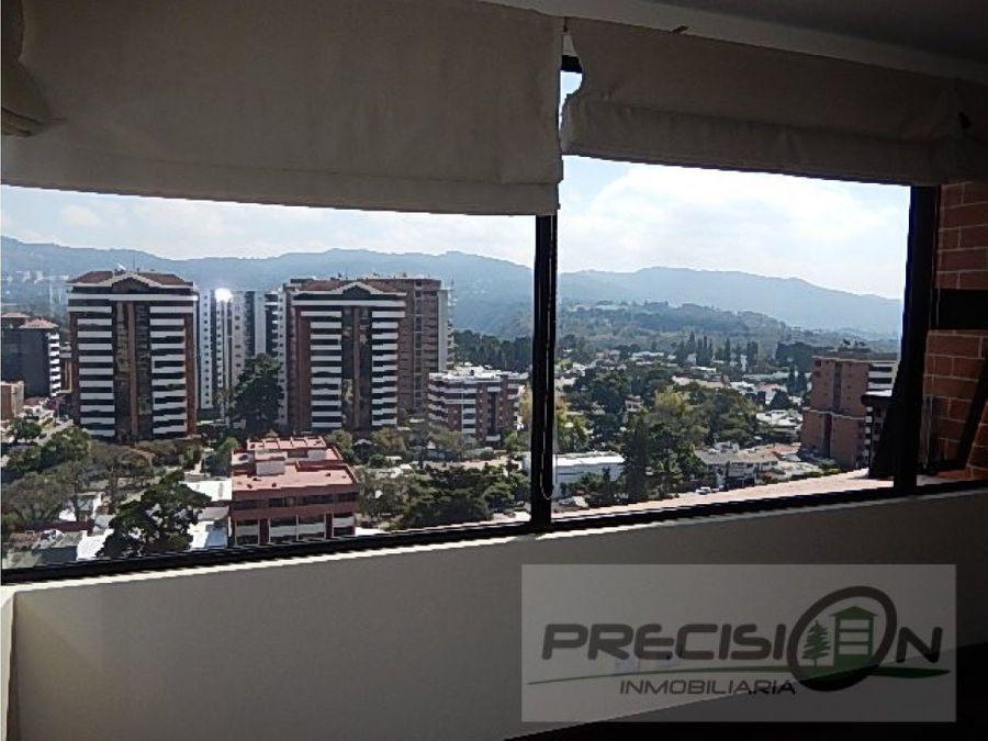 apartamento en zona 14 edificio san patricio i