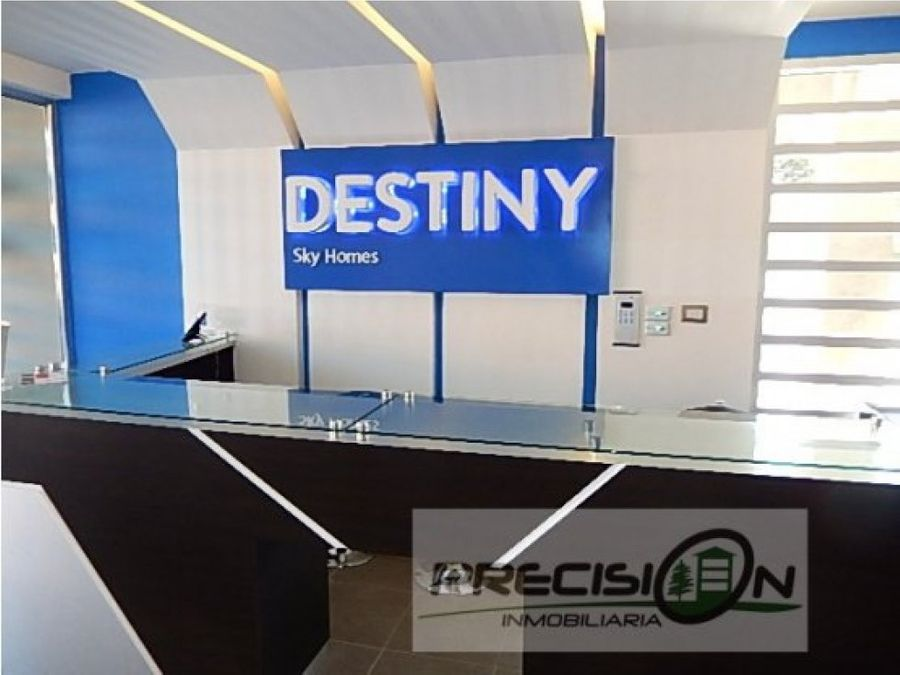 apartamento en km145 edificio destiny sky homes