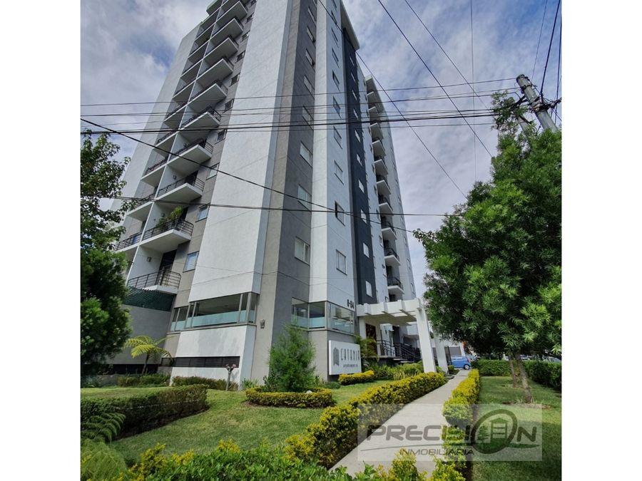 apartamento amueblado en alquiler zona 14 edificio catania