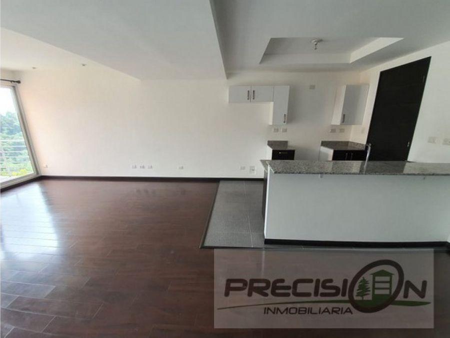 apartamento en alquiler zona 16 edificio nueva caledonia