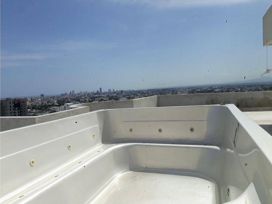 venta de penthouse en paraiso en santo domingo