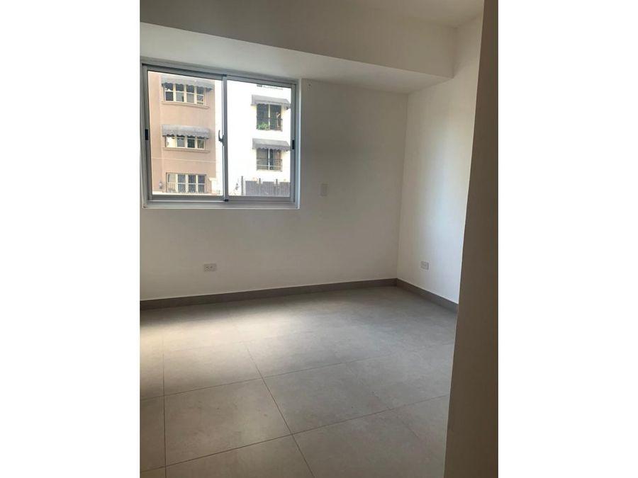 rento apartamento ensanche naco con linea blanca