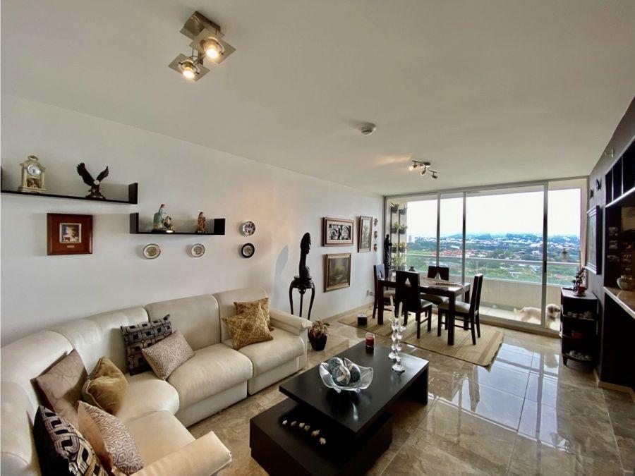 se vende apartamento en condominio bellavista heredia