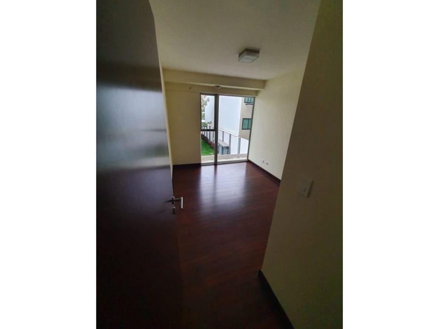 alquiler de apartamento vistas de robledal