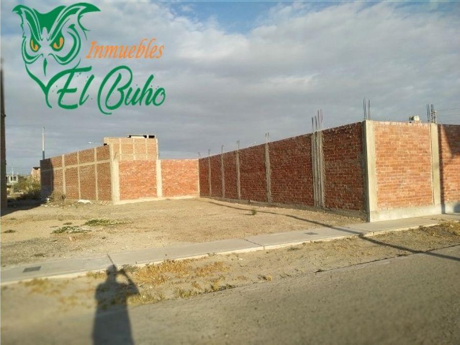 vendo terrenos en casuarinas iii etapa portales