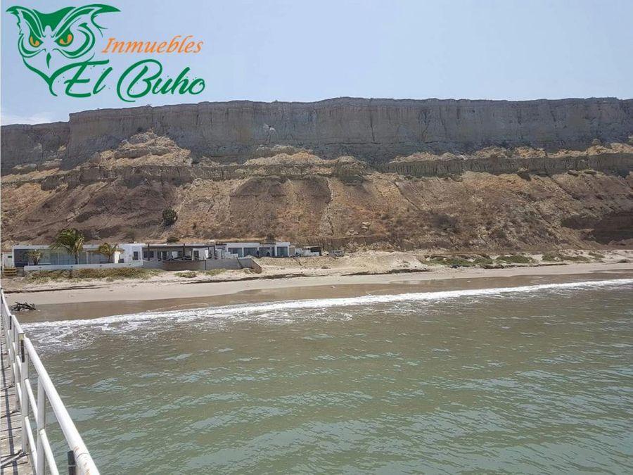 vendo terreno de playa colan piura