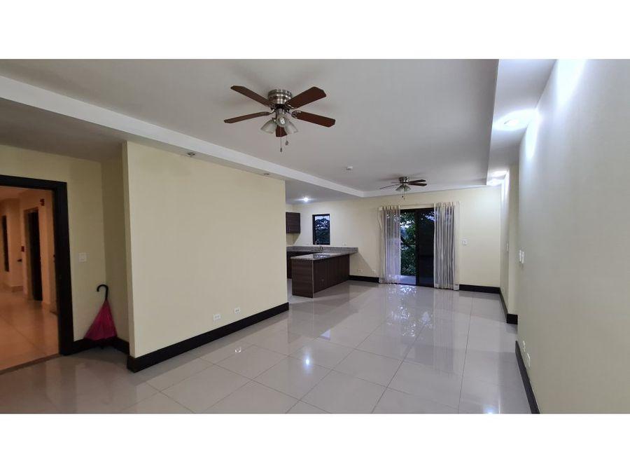 alquiler en brasil de santa ana en condominio 3 habitaciones