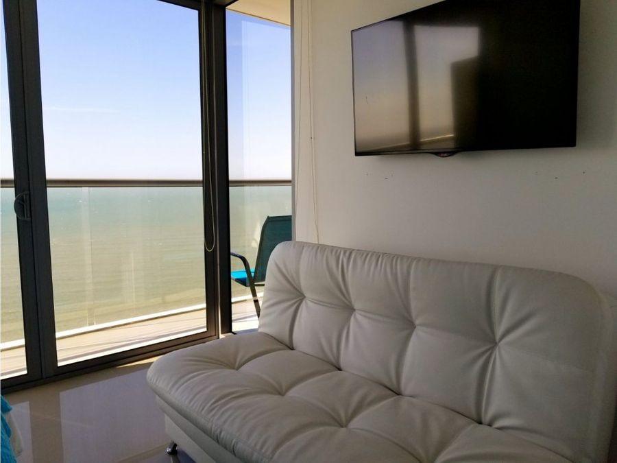 venta apartamento bocagrande 1 alcoba ed morros city