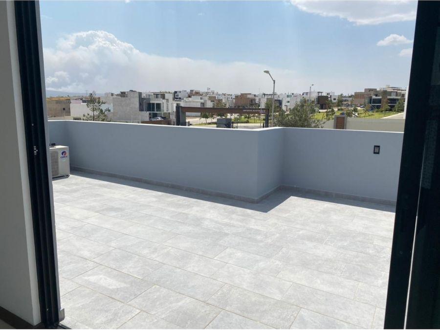 casa 6 con roof garden en valle imperial