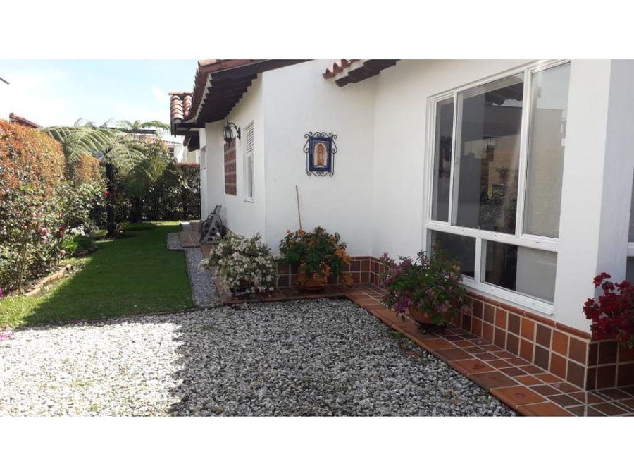 venta casa campestre la ceja