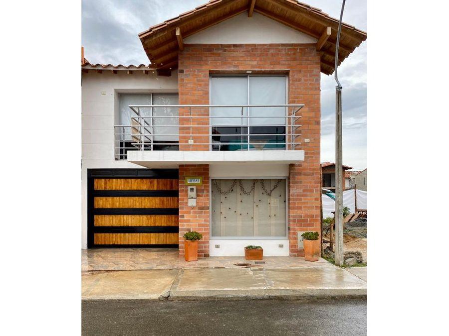 venta casa unifamiliar la ceja
