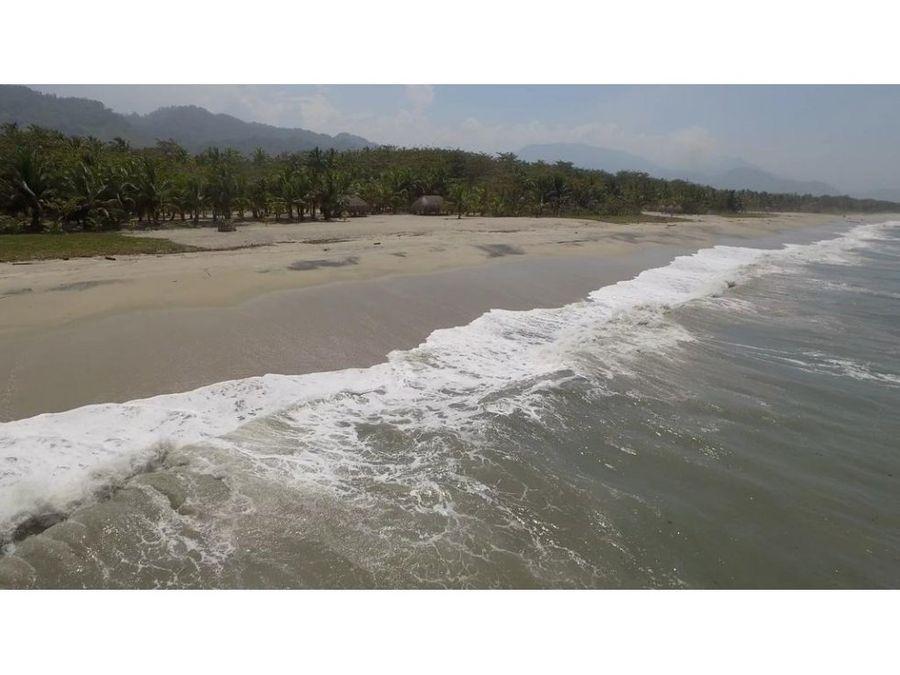 se vende lote de playa en buritaca magdalena