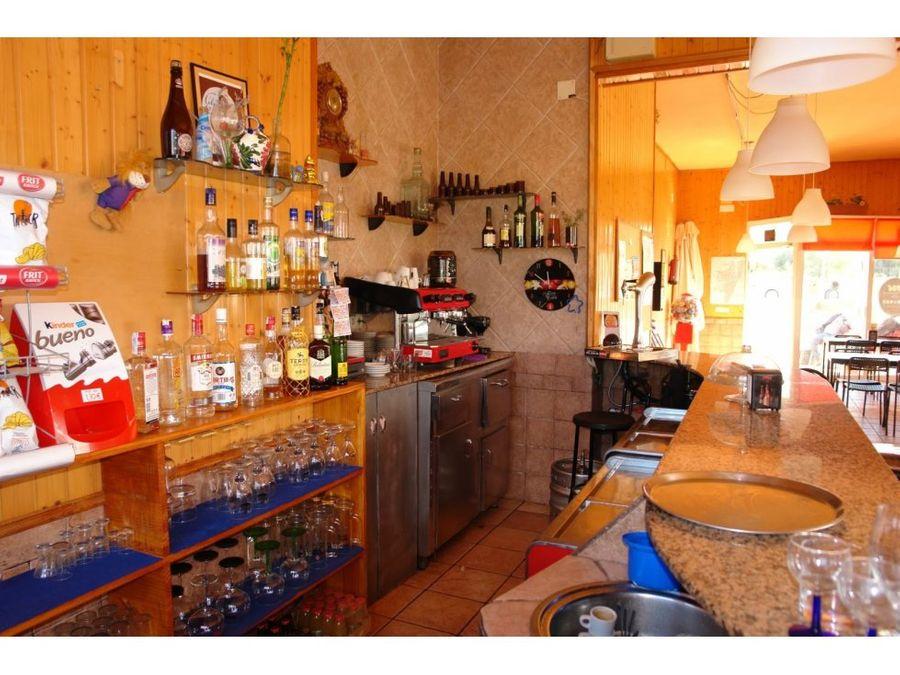 vivienda y negocio bar restaurante