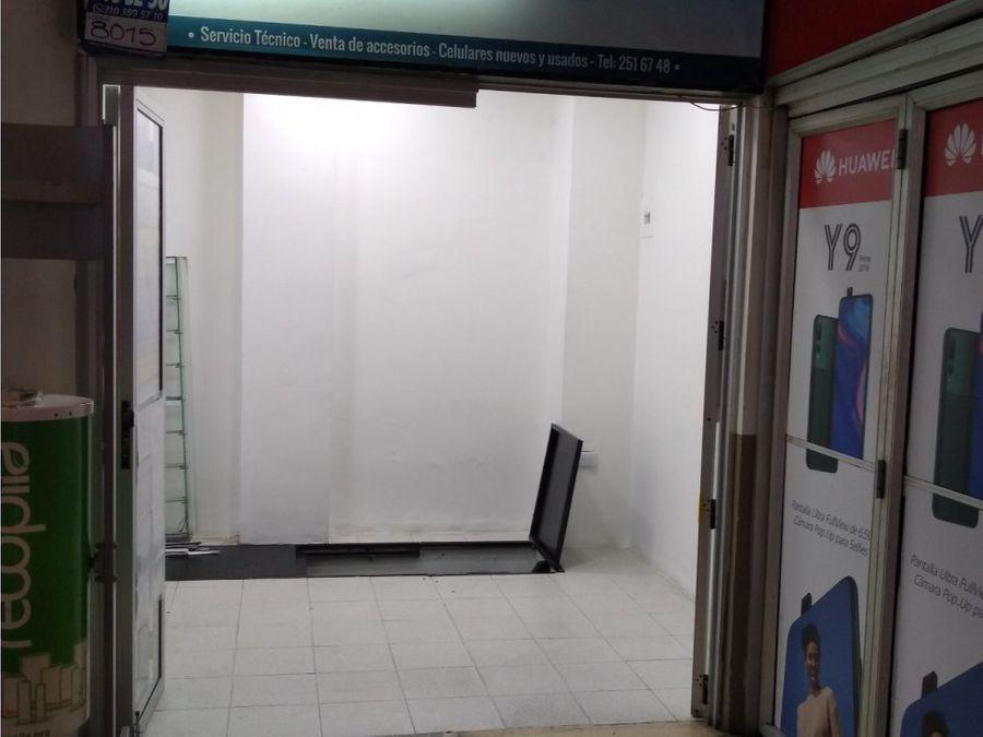 venta de local en el centro comercial opera