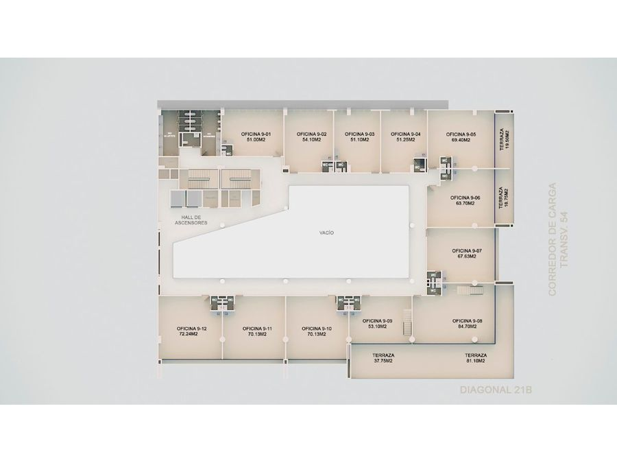 bosque ejecutivo oficinas en venta en cartagena