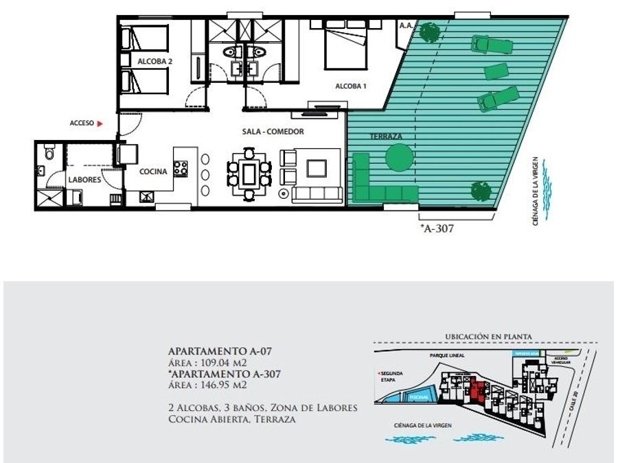 geminis condominio apartamentos en venta en cartagena cielo mar
