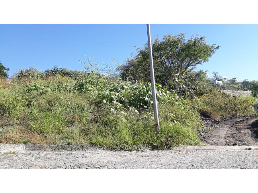 terreno en venta al sur de cuernavaca la cima