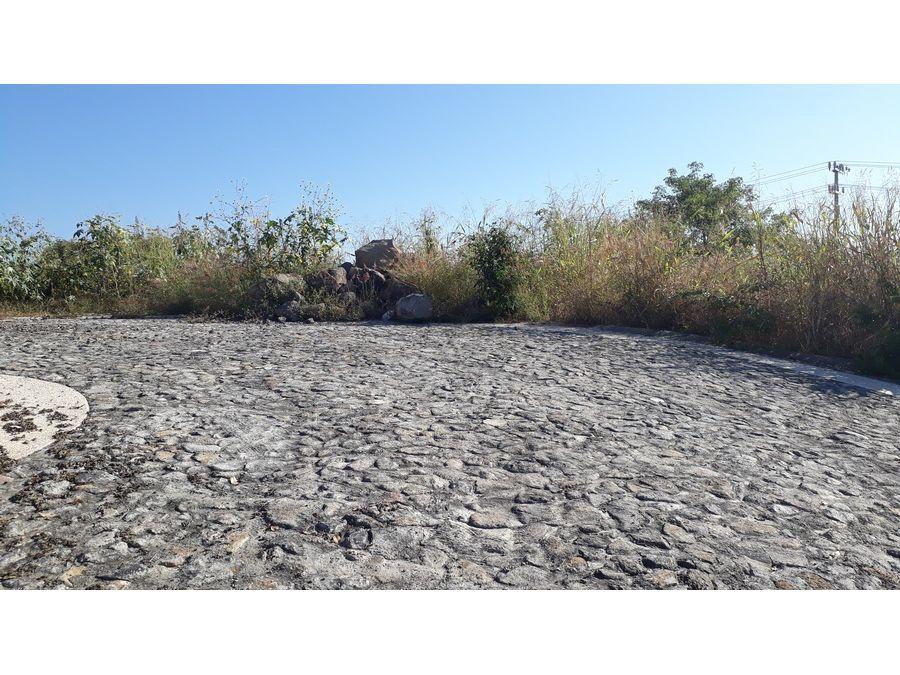 terreno en venta en burgos bugambilias 585m2 l47