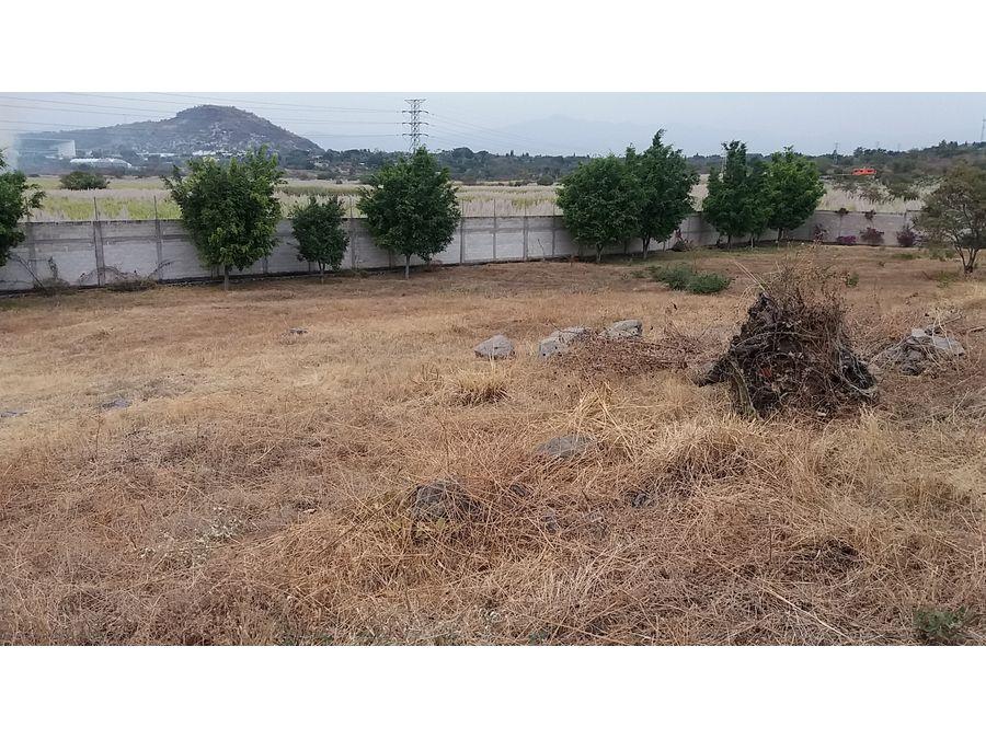 terreno en venta en real de tezoyuca l7 1247 m2