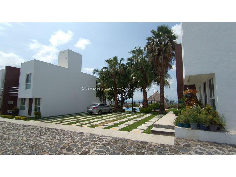 hermosa casa en condominio en venta lomas de burgos 3