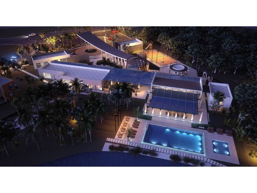 villa en venta en el boulevard turistico de bavaro punta cana 2hab